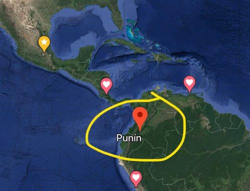 Ancient Punt was in South America
