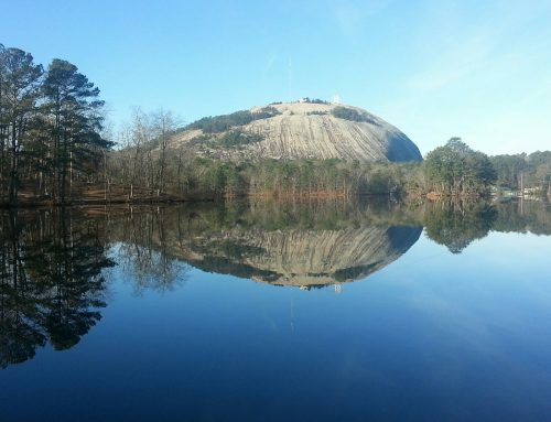 The Rock of Gibraltar is Stone Mountain, GA