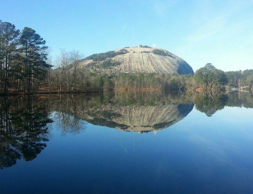 The Rock of Gibraltar is Stone Mountain, GA